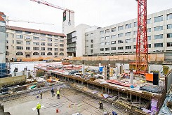 Baufortschrittsdokumentation Neubau Areal Eichstrasse 2016-2018, Stuttgart