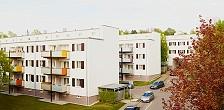 Modernisierung der Arbeitersiedlung Im Wallmer / Richard Döcker