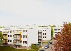 Modernisierung der Arbeitersiedlung Im Wallmer / Richard Döcker, Stuttgart-Untertürkheim